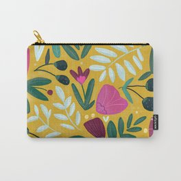 Mustard bouquet Carry-All Pouch