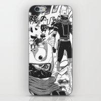 manga iPhone & iPod Skins featuring Manga 04 by Zuno