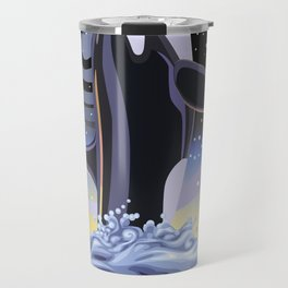 Orca Galaxy Travel Mug