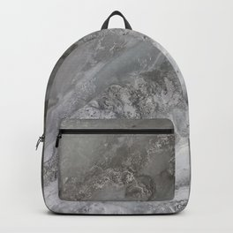 Frozen river Backpack