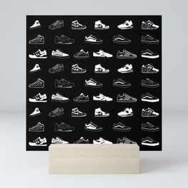 Black Sneaker Mini Art Print