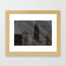 Art-chitecture III Framed Art Print