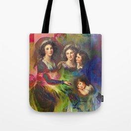 Rainbow Silks Tote Bag