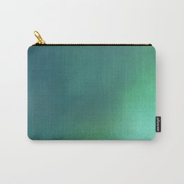 Abstract noise green Carry-All Pouch