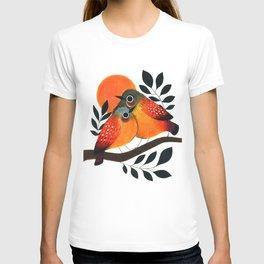 Fluffy Birds T-shirt
