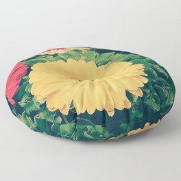 Gerberas 2.1 Floor Pillow