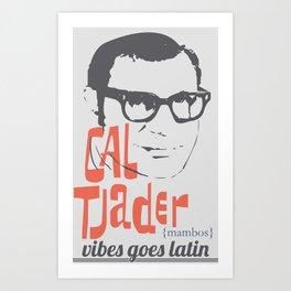 CAL TJADER Art Print