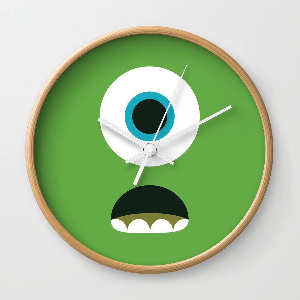 Mike Wazowski Wall Clock by Ese51 CLK2092476