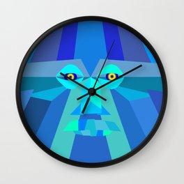Abstract Face Wall Clock