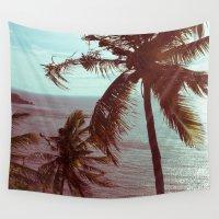 sunshine Wall Tapestries featuring sunshine by Farkas B. Szabina