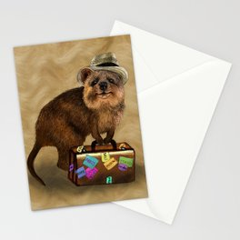 Traveller // quokka Stationery Cards