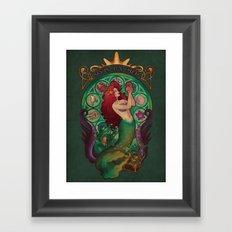 Sous La Mer Framed Art Print