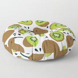 Kiwis & Kiwis Floor Pillow