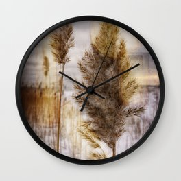 Beach Grass 2 Wall Clock
