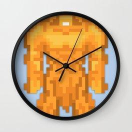 PixelWorld vol. 1 | Sasquatch Wall Clock