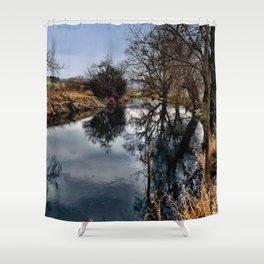 Winterimpression 1 Shower Curtain