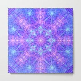Star Essence Mandala Metal Print