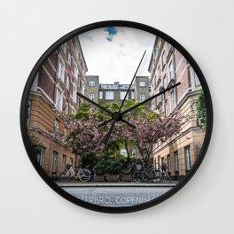 Vesterbro, Copenhagen Wall Clock