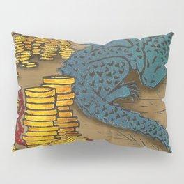 Tiny Dragon Pillow Sham