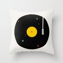 Music, Everywhere Throw Pillow