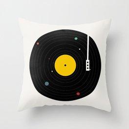 Music, Everywhere Throw Pillow