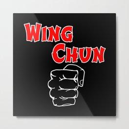 wing chun fist Metal Print