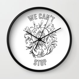 we can't stop Wall Clock