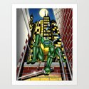 TMNT: Leo in the City by kmlkreations