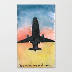 You make my soul soar. Canvas Print