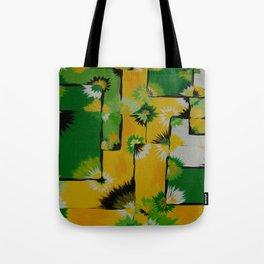 Lemon Lime Blossom Query Tote Bag