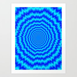 Big Bang Blues Art Print