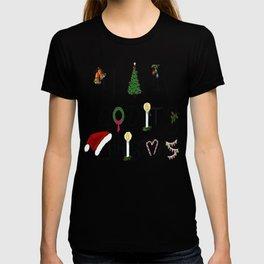 Thank God It's Christmas Consumer Irony Vector T-shirt