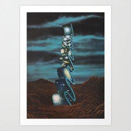 Ultrastructures #7 Art Print