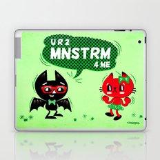 U R 2 MNSTRM 4 ME Laptop & iPad Skin