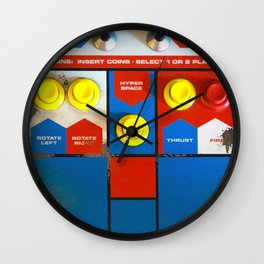 Well Played, Asteroids. Wall Clock
