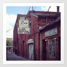 Blues Alley (Washington, DC) Art Print