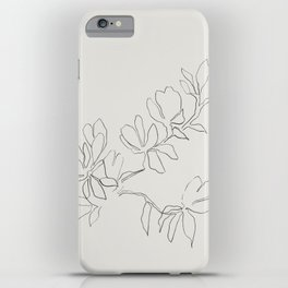 Floral Study no. 4 iPhone Case