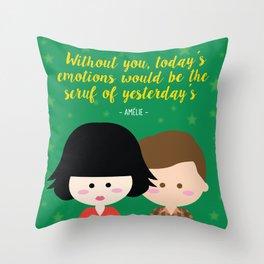 Amélie Throw Pillow