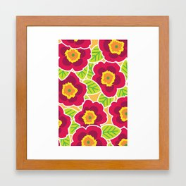 Primrose Collection 3 Framed Art Print