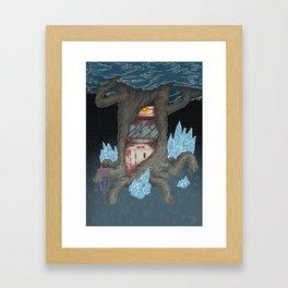 Arcade Deus Of Dark Forest Framed Art Print
