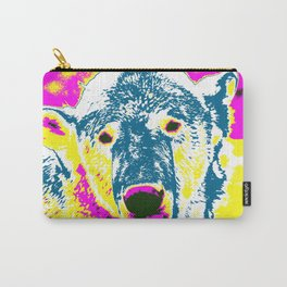 Pop Art Polar Bear 1 Carry-All Pouch