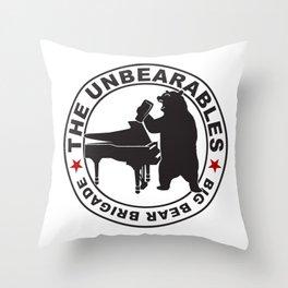 The UnBearables Throw Pillow