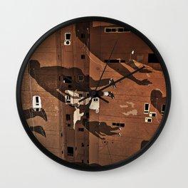 Cairo Ghosts Wall Clock