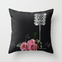 Live.. Love.. Laugh.. Throw Pillow