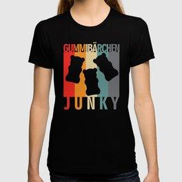 Gummy Bear Junky Retro Design T-shirt