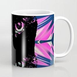 Black Cat Rising Coffee Mug