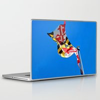maryland Laptop & iPad Skins featuring Maryland Pride by Kelsey Hunt