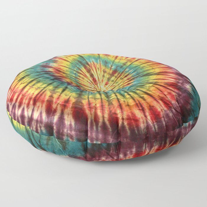 Tie Dye 19 Floor Pillow