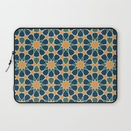 islamic geometric pattern Laptop Sleeve