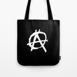 Anarchy Anarchists Black Tote Bag